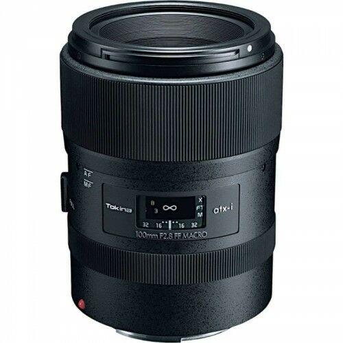 Tokina atx-i 100mm F2.8 FF MACRO Canon
