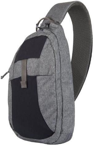 Plecak Helikon EDC Sling 6,5 l - Melange Black/Grey (PL-ESB-NP-M1) H
