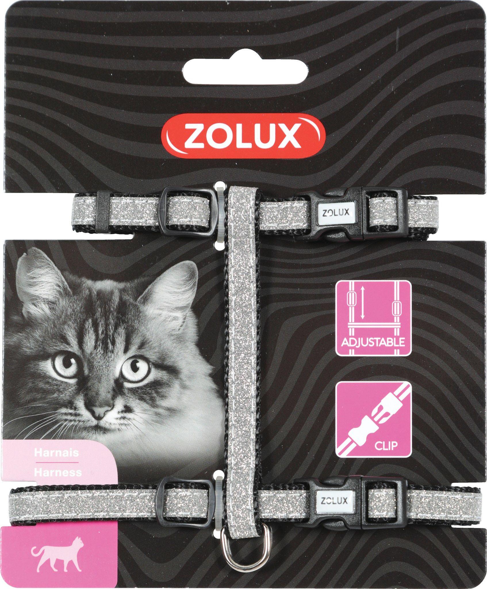 Zolux Szelki nylon regul. Shiny kol. czarny