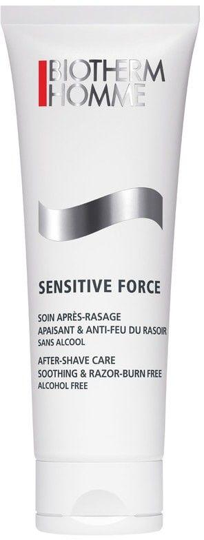 Biotherm Homme Sensitive Force bezalkoholowa pielęgnacja po goleniu łagodząca podrażnienia