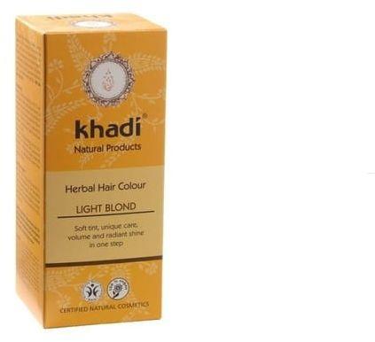 Henna Do Włosów Jasny Blond Naturalna Khadi