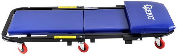 Leżanka warsztatowa 2w1 stołek taboret wózek