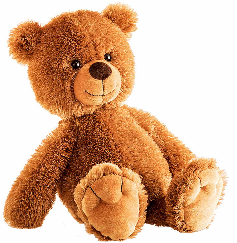 Schaffer 5401 Tom Teddy przytulanka zabawka, 28 cm, brązowa, wielokolorowa