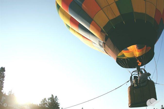 Niesamowity lot balonem w okolicach Warszawy