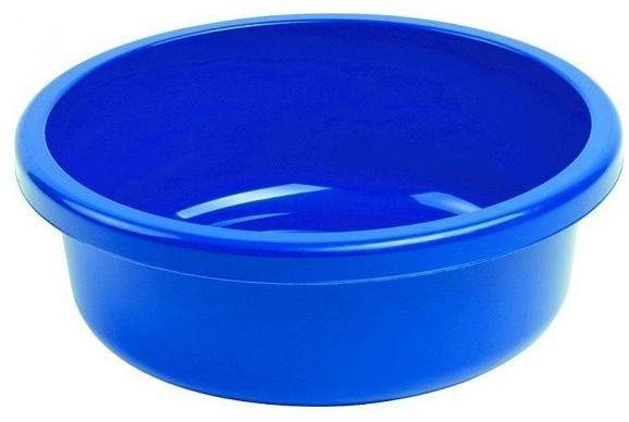 Miska 18L okrągła niebieska