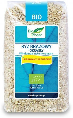 Ryż brązowy okrągły BIO 500g Bio Planet