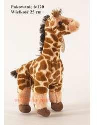 Plusz żyrafa 25cm (DEEF 02926)
