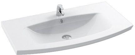 Cerastyle Plus umywalka 90x51cm meblowa / ścienna 090100-u