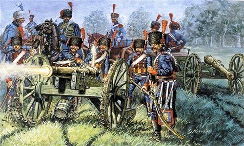 Italeri 510006018 - 1:72 francuska artileria garde-artilerie