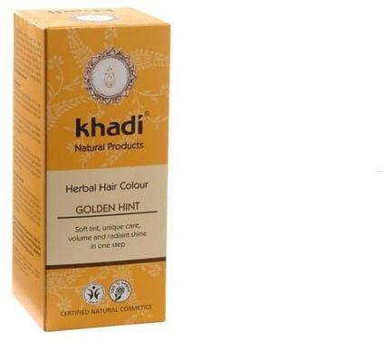 Henna Do Włosów Złoty Blond Naturalna Khadi