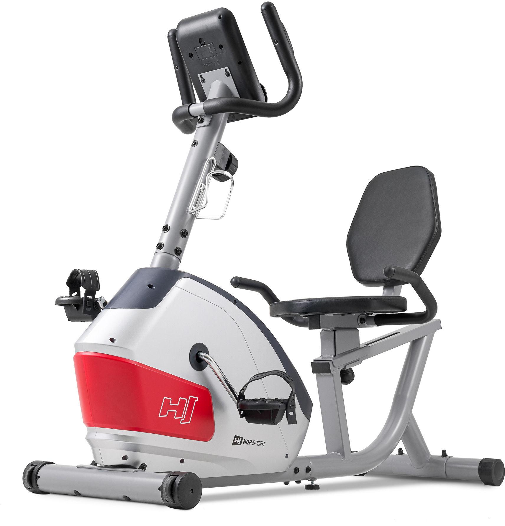 Rower leżący magnetyczny HS-035L Solo Srebrny