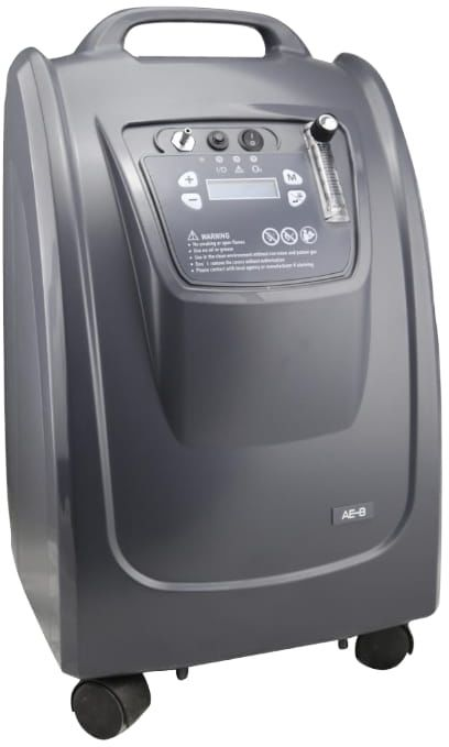 Koncentrator tlenu AE-5-W Bardzo cicha praca 36dB, wysoka koncentracja tlenu, 5L/min