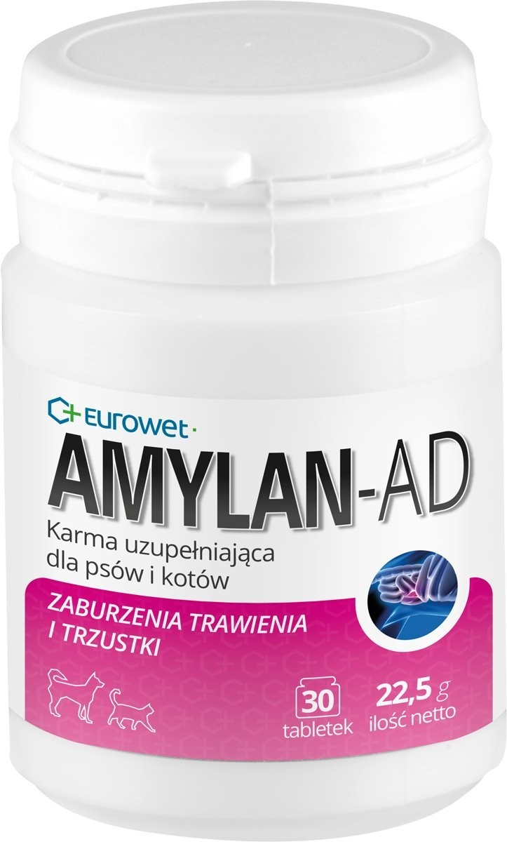 Eurowet Amylan AD 30 tabl