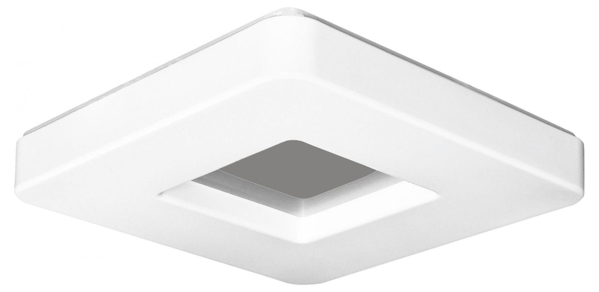 Minimalistyczny plafon LED E111-Albo XXL