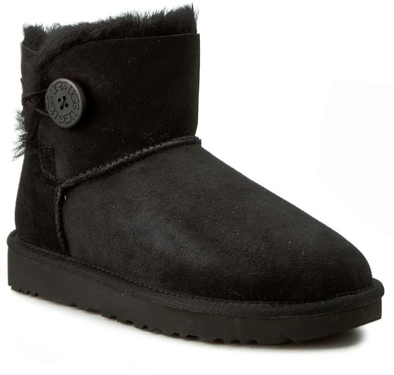 Ugg Buty W Mini Bailey Button II 1016422 Czarny