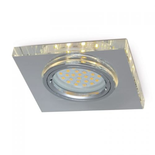Oprawa kwadratowa na GU10 z podświetleniem