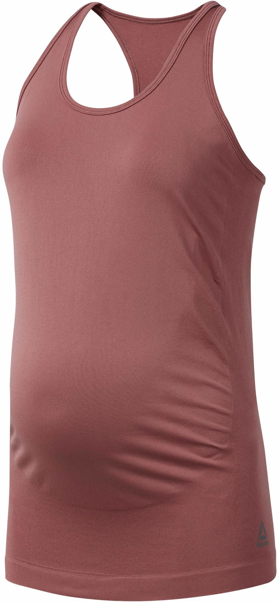 Reebok Y Seamless Maternity Tank koszulka damska bez rękawów, różowa (Rose Dust), XS