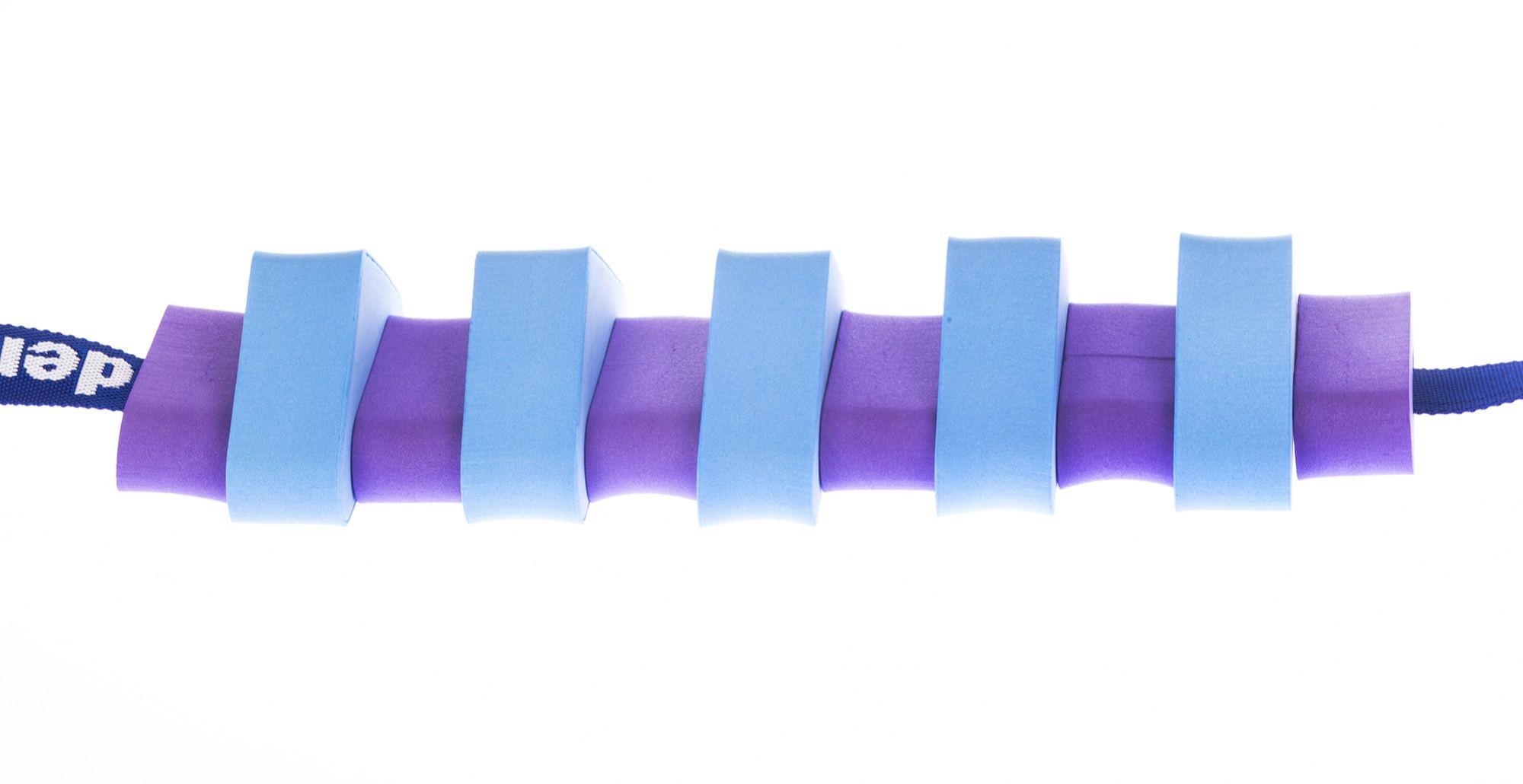 Pas pływacki dla dzieci 1000 niebieski/fioletowy