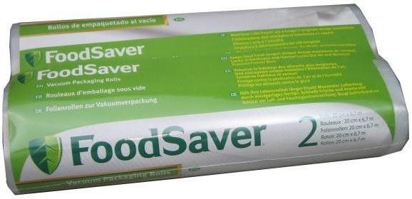 Folia FoodSaver do próżniowego pakowania żywności 2x rolka 6,7m x 20