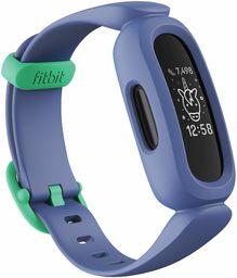 Tracker aktywności Fitbit Ace 3 dla dzieci z animowanymi tarczami zegara, żywotnością baterii do 8 dni i wodoodpornością do 50 m