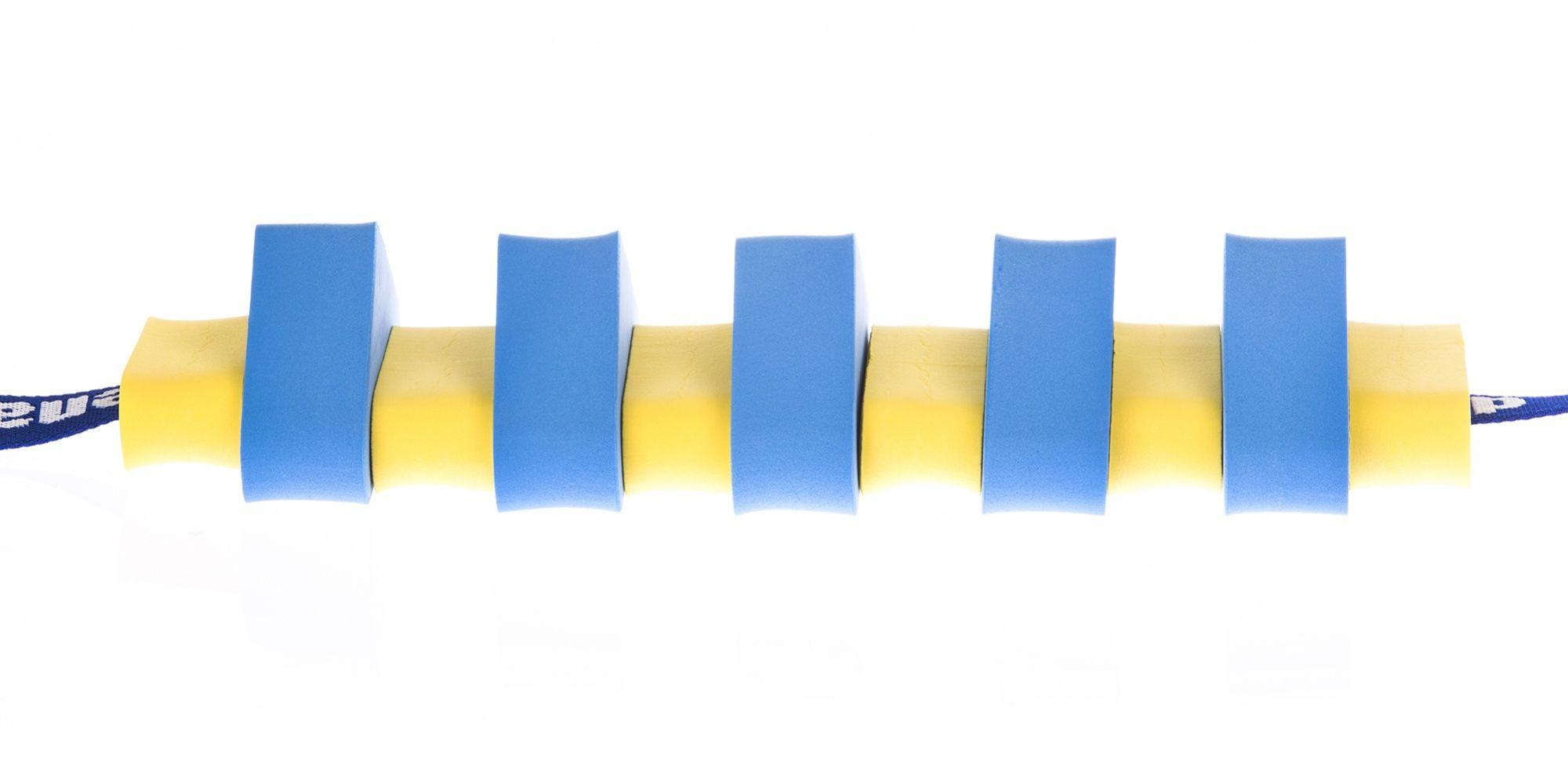 Pas pływacki dla dzieci 1000 niebiesko/żółty