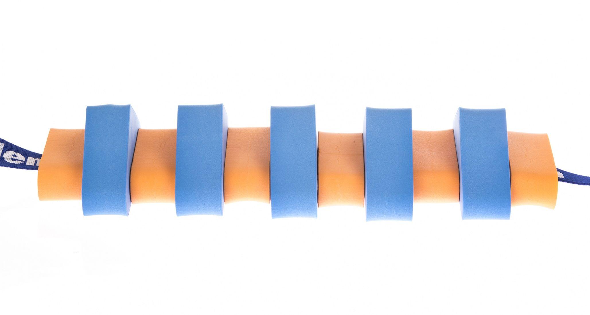 Pas pływacki dla dzieci 1000 pomarańczowo/niebieski