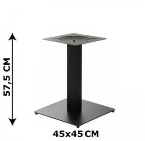 Podstawa stolika SH-5002-5/L/B, 45x45 cm (stelaż stolika), kolor czarny