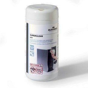 Pojemnik nasączonych ściereczek do plastiku SUPERCLEAN BOX /570802/