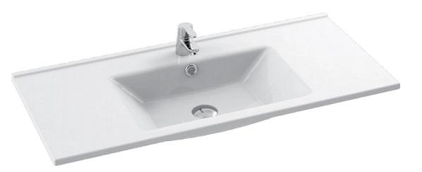 Cerastyle Arte umywalka 100x44,5cm meblowa / ścienna 067600-u