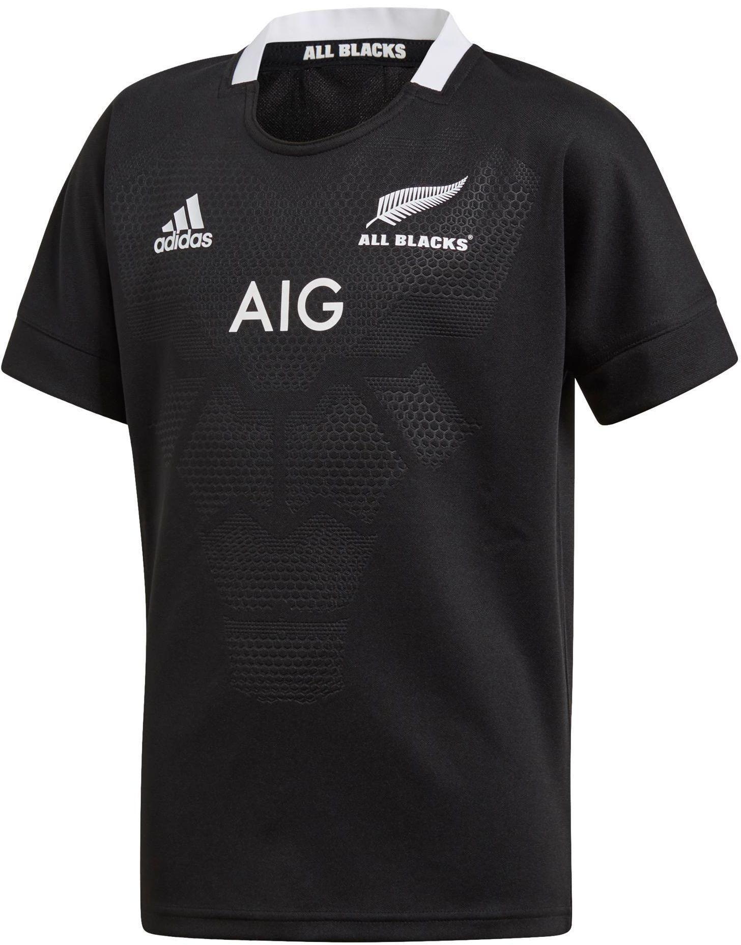 Koszulka do rugby replika All Blacks dla dzieci