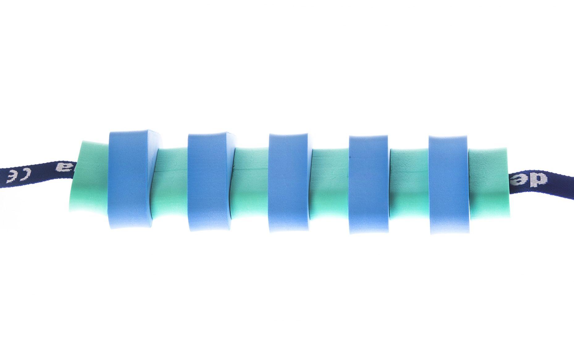Pas pływacki dla dzieci 1000 zielono/niebieski