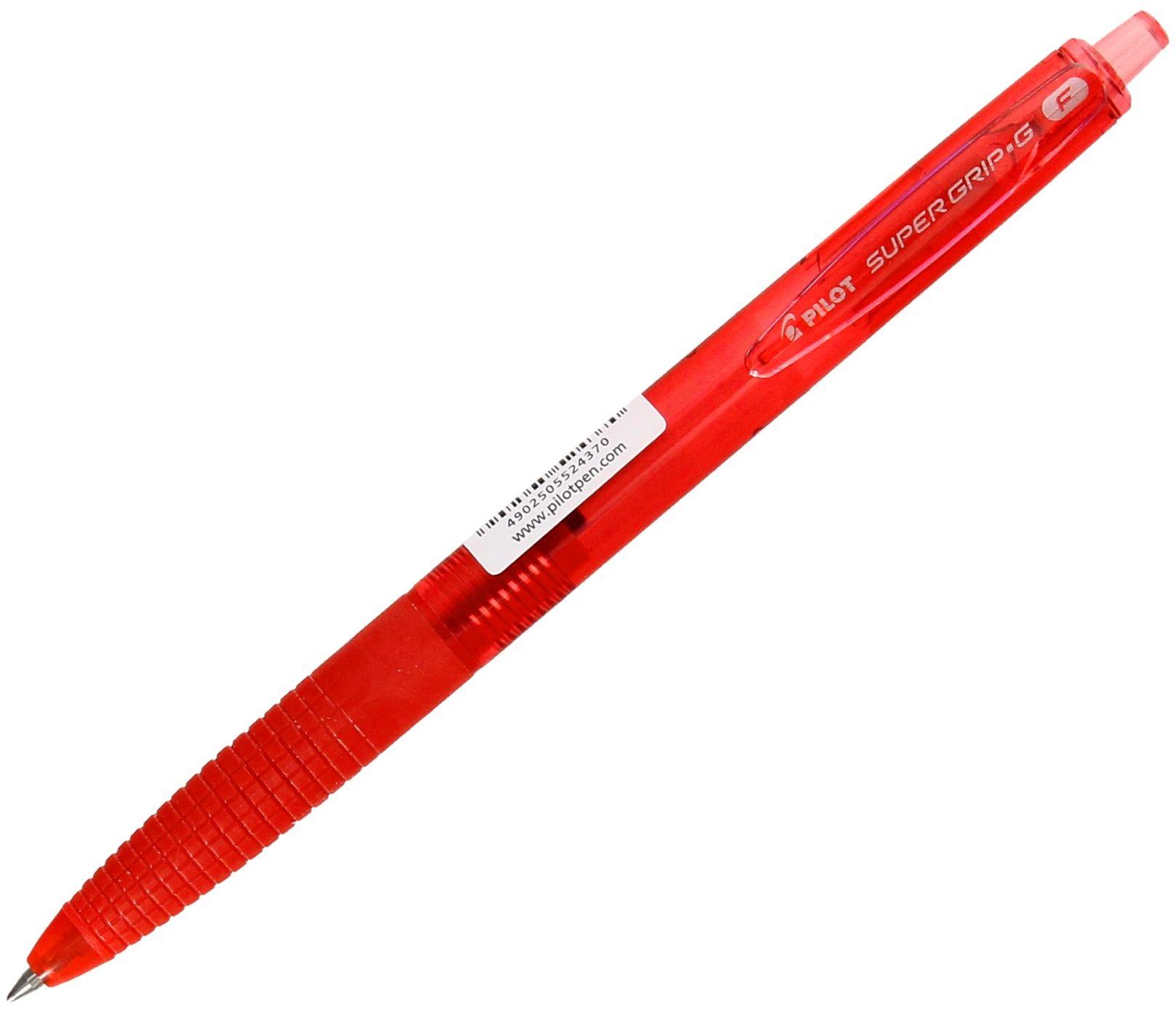 Długopis olejowy automatyczny czerwony Pilot Super Grip G