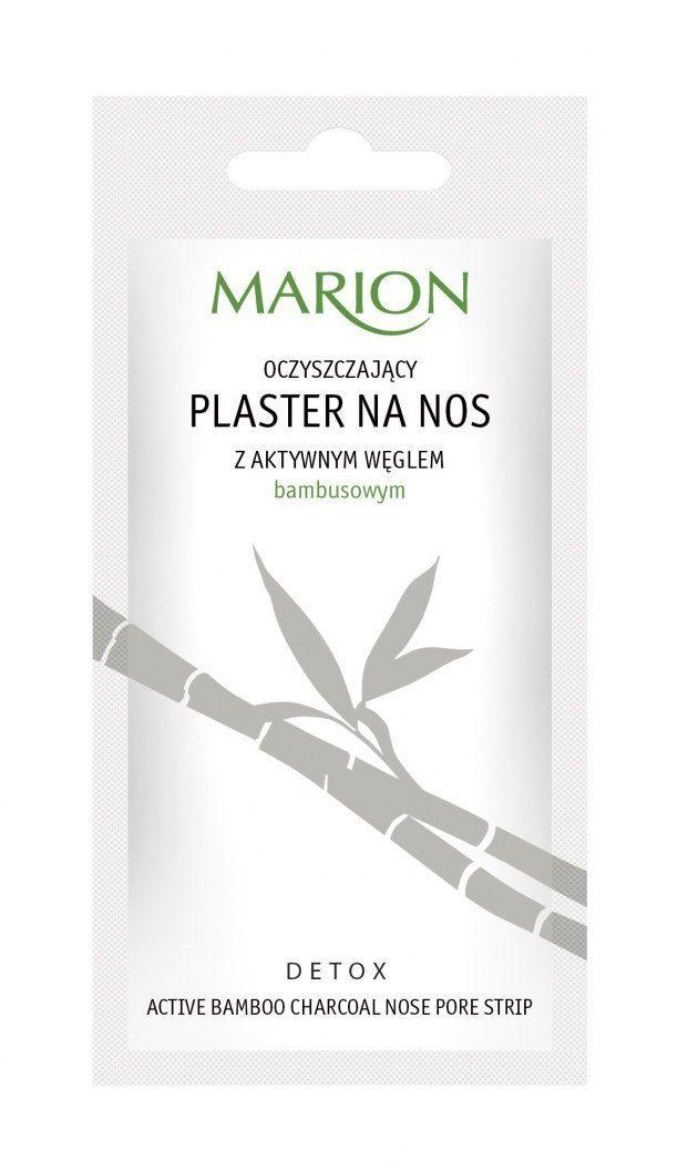 Marion Marion Detox Aktywny Węgiel Plaster na nos oczyszczający 1szt