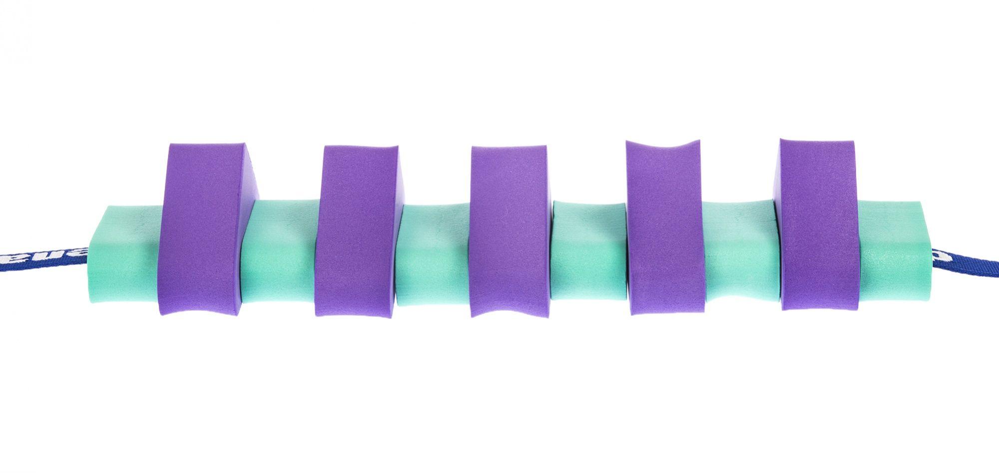 Pas pływacki dla dzieci 1000 fioletowo/zielony