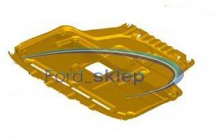 osłona silnika dolna Fiesta z filtrem cząstek stałych - zamiennik
