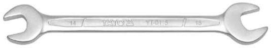 Klucz płaski, satynowy 14x15 mm Yato YT-0115 - ZYSKAJ RABAT 30 ZŁ
