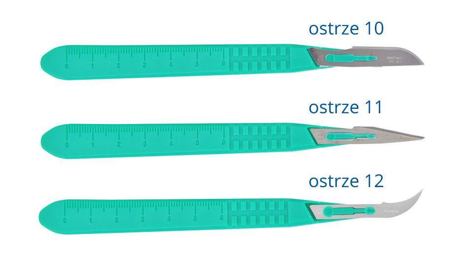 Skalpele chirurgiczne Ribbel