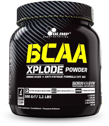 Olimp BCAA Xplode Powder truskawka 500 g