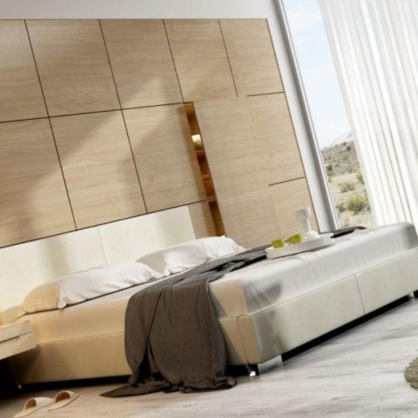 Łóżko CLASSIC NEW DESIGN tapicerowane, Rozmiar: 200x200, Tkanina: Grupa I, Pojemnik: Bez pojemnika Darmowa dostawa, Wiele produktów dostępnych od ręki!