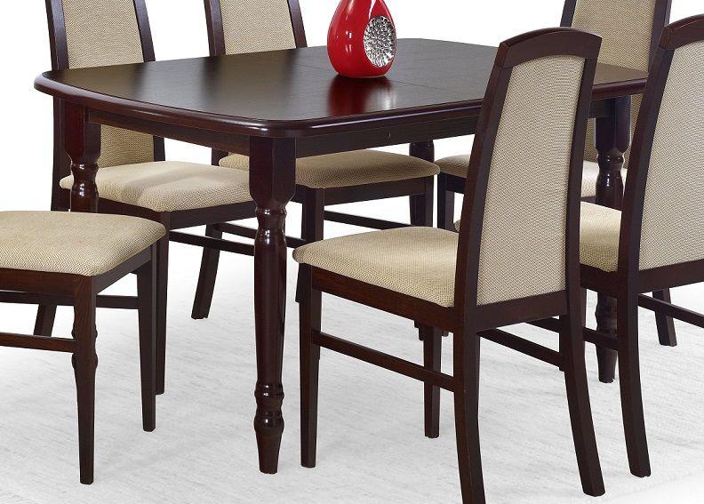 Stół rozkładany TOLEDO 150-190x80 ciemny orzech