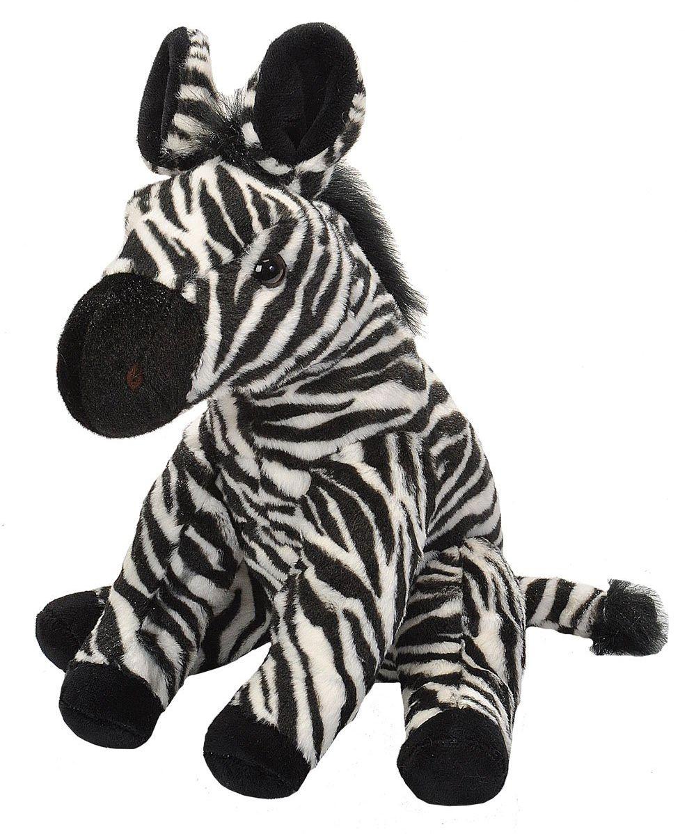 Wild Republic 19378 pluszowa zebra, Cuddlekins przytulanka zwierzątko pluszowe, 30 cm