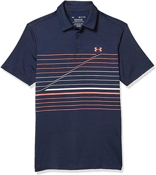 Under Armour Męska koszulka polo Playoff 2.0 Polo oddychająca koszulka sportowa, wygodna i z krótkim rękawem z luźnym dopasowaniem niebieski Academy (417)/Beta S