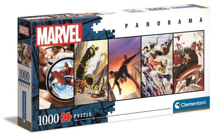 Puzzle 1000 panoramiczne collection Marvel 39611 - Clementoni