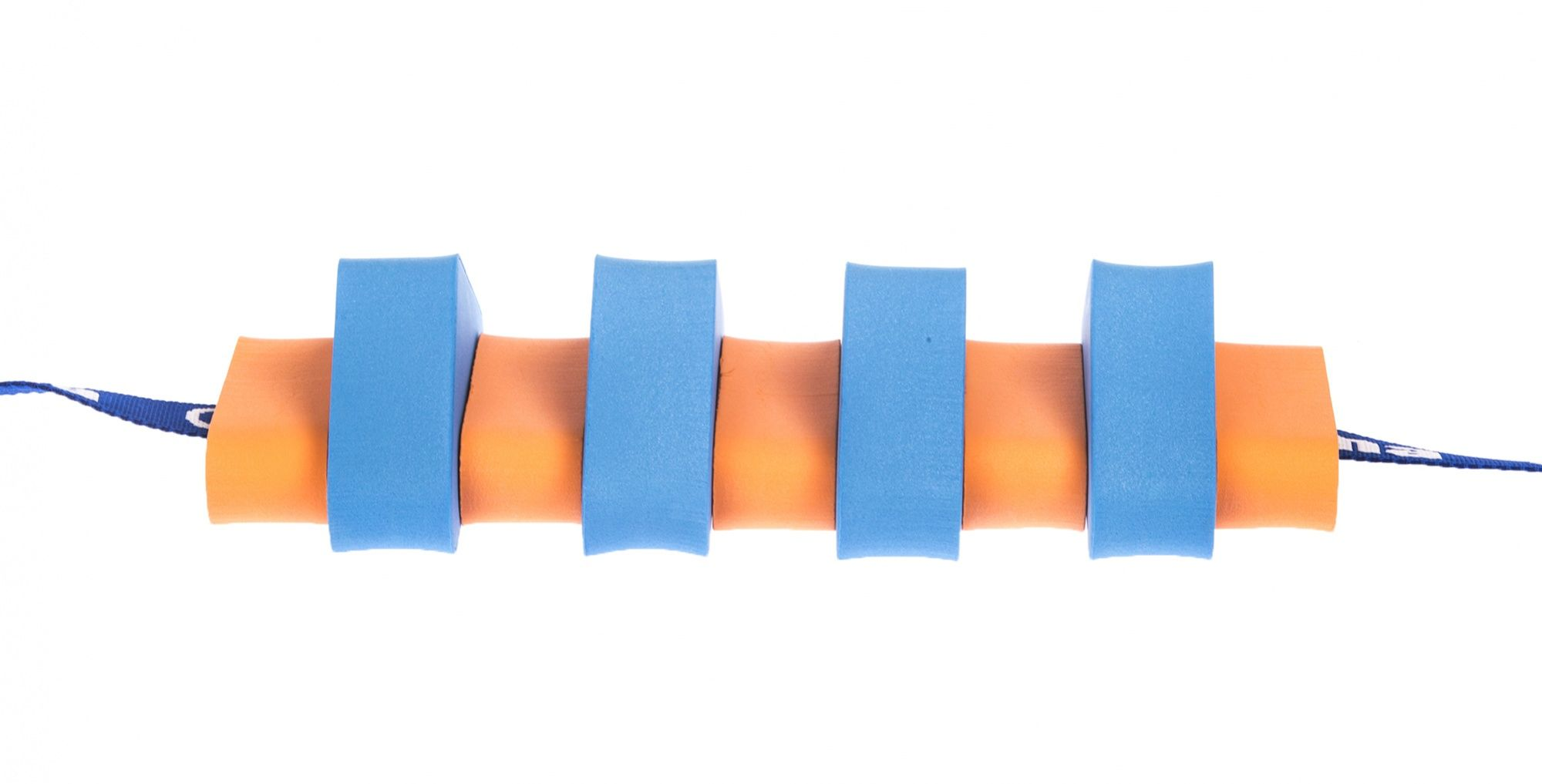 Pas pływacki dla dzieci 850 niebiesko/pomarańczowy