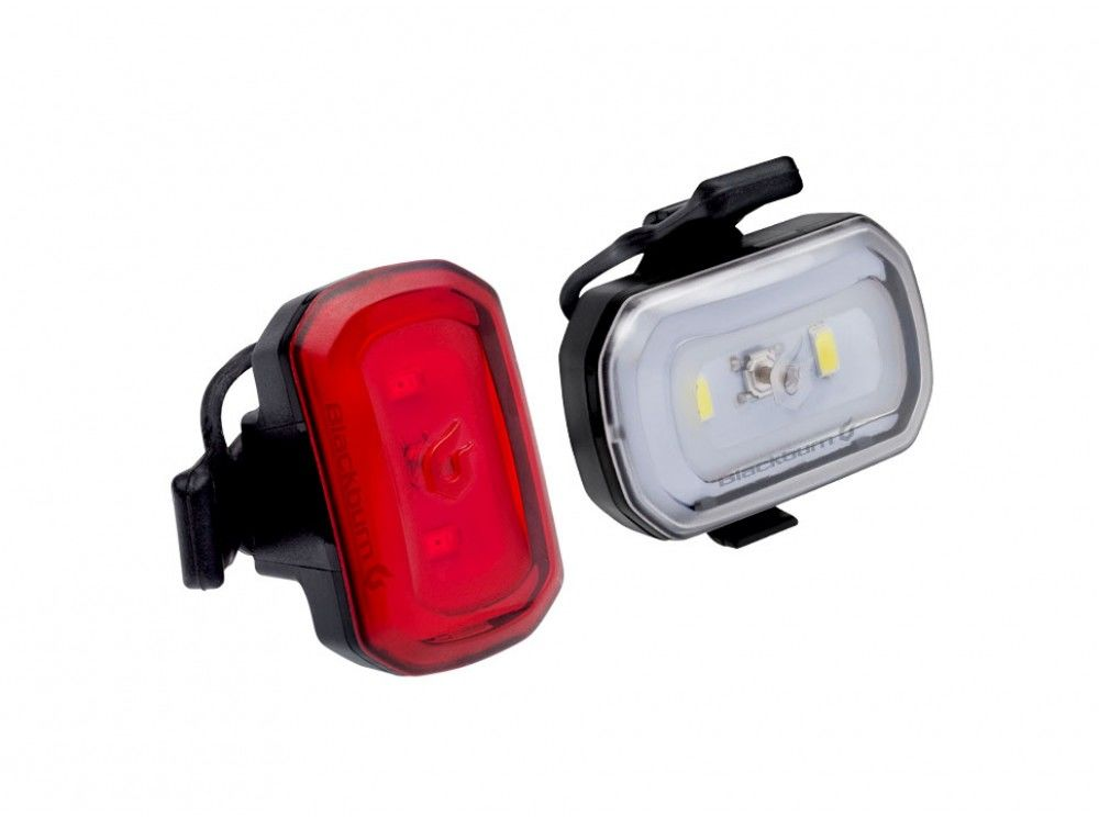 Zestaw lampki BLACKBURN CLICK USB przód 60 lumenów, CLICK USB tył 20 lumenów czarne BBN-7074410,768686731082