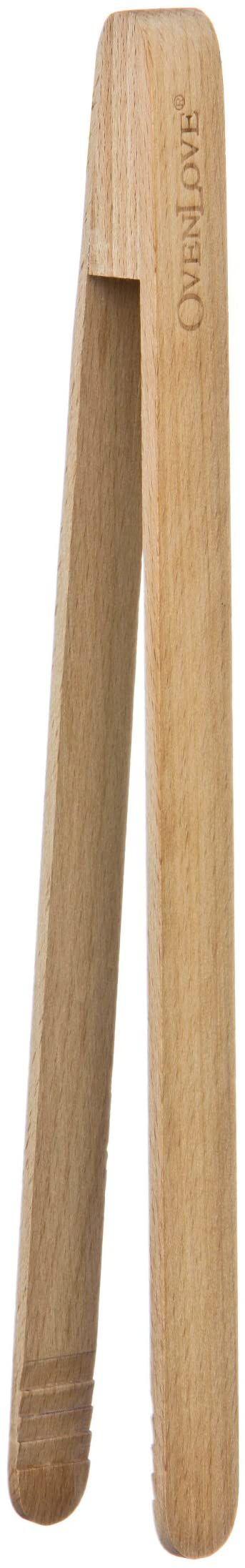 Premier Housewares OvenLove szczypce do żywności z drewna bukowego