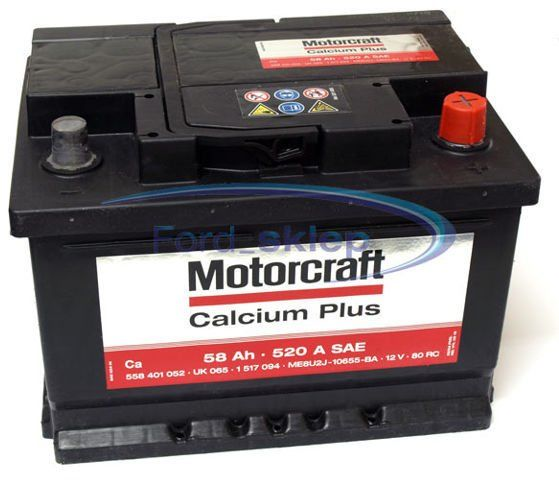 akumulator Motorcraft Calcium Plus - 60AH 540A / oryginał 1863092
