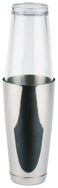 Shaker bostoński ze szklanką inox 0,7L