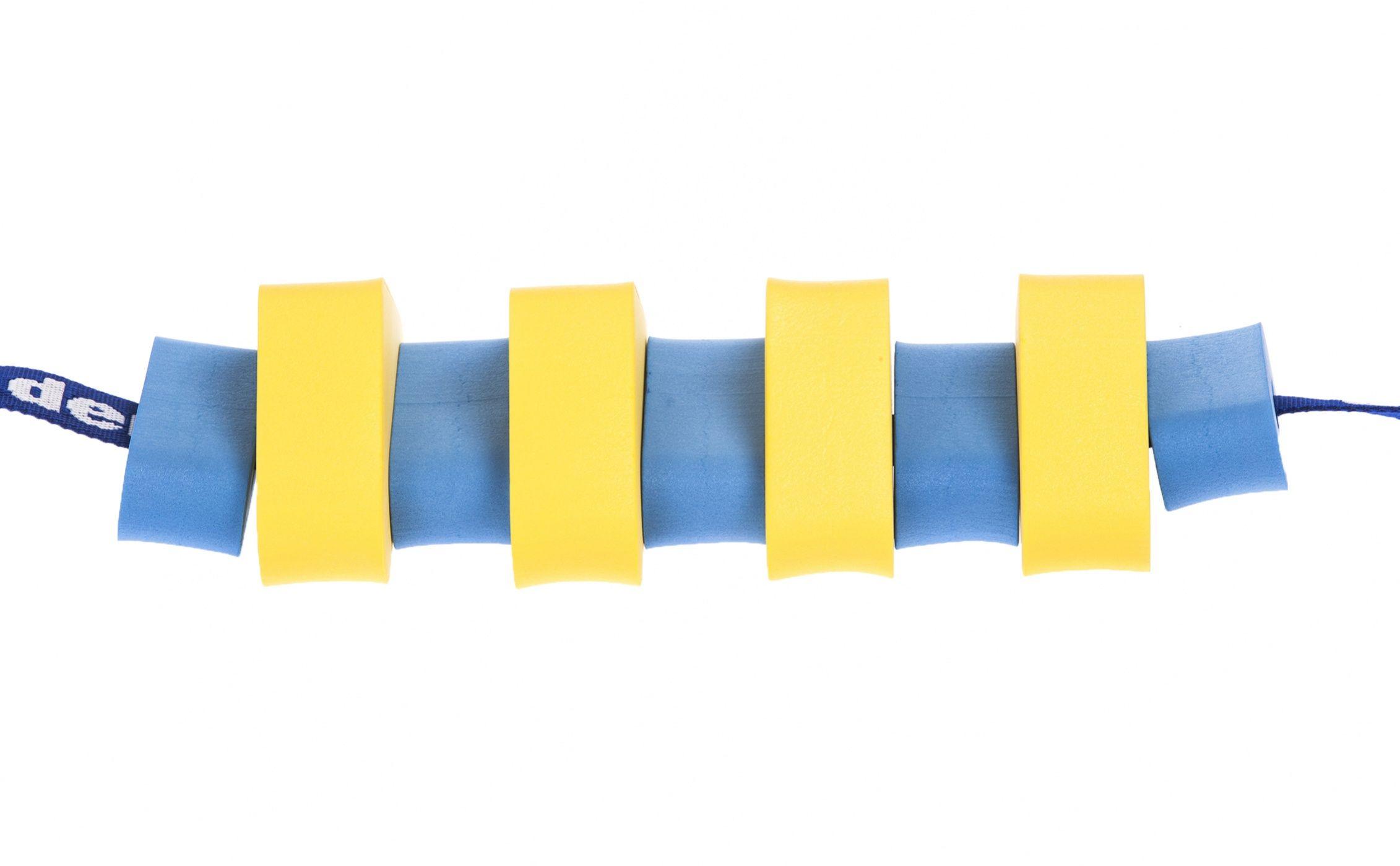 Pas pływacki dla dzieci 850 żółty / niebieski
