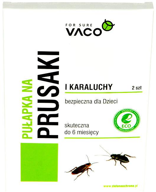 Pułapka na karaluchy, prusaki Vaco 2 szt.